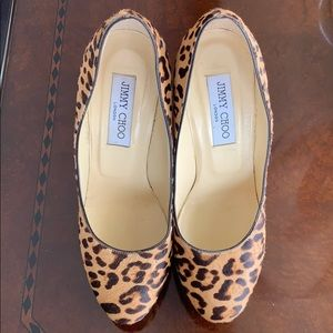 Leopard JIMMMY CHOO pumps